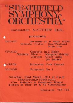 1991 Season 1 poster